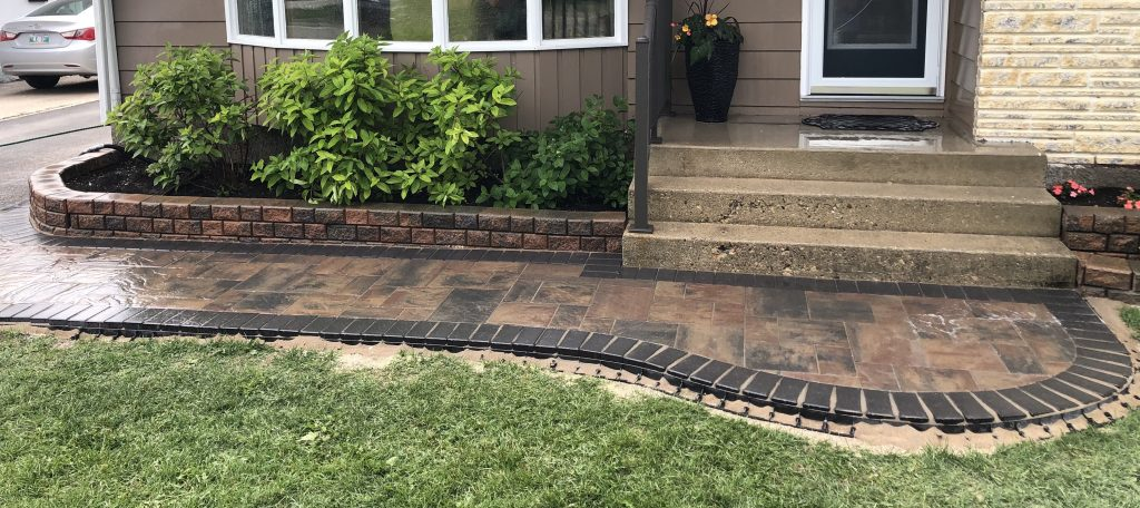 Landscaping Front Patio